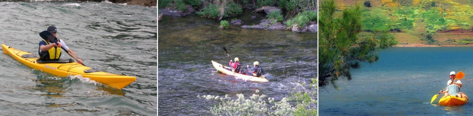 Kayak en Marruecos