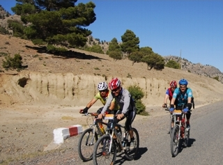 Mountain Bike en Marruecos