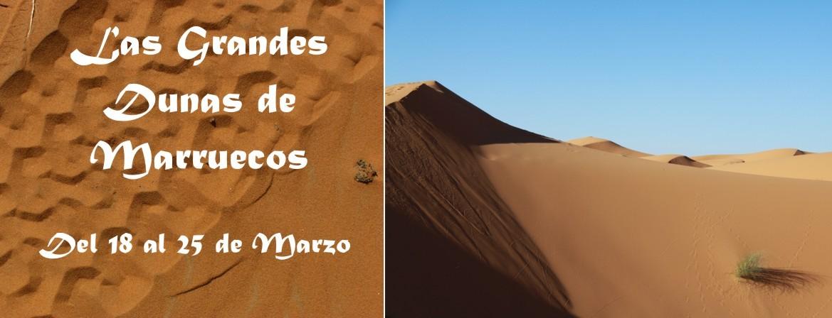 Las grandes dunas de Marruecos, Del 18 al 25 de Marzo